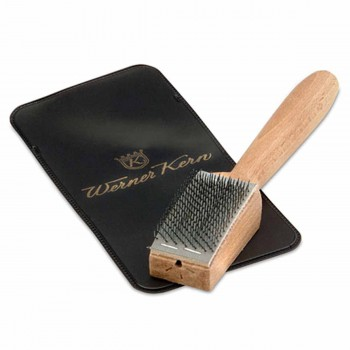 Werner Kern - Special brush for suede soles [With Case]