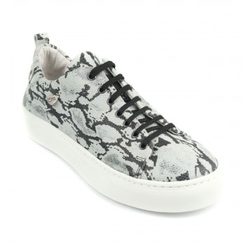 PortDance - Unisex Jazz Sneakers PD HH003 - Black/White