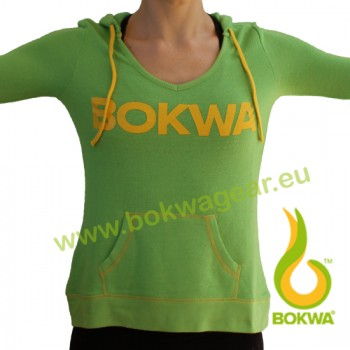 Bokwa® - Women´s Pullover Hoodie - Zest Green [Extra Small] Final Sale - No return