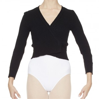 Intermezzo - Ladies Ballet Wrap Cardigan long sleeves 6811 Jersey Elipor