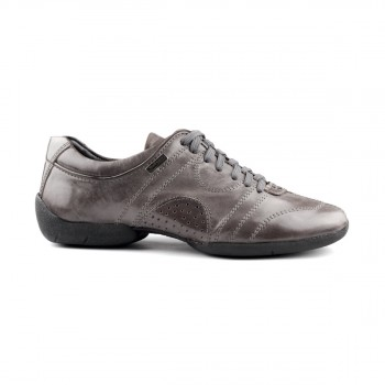 PortDance - Men´s Sneakers PD Casual - Leather Silver/Black