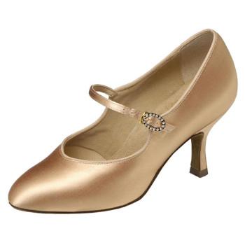 Supadance - Ladies Dance Shoes 1012 - Flesh Satin