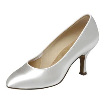 Supadance - Ladies Dance Shoes 1016 - White Satin