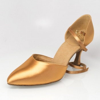 "Ray Rose - Ladies Dance Shoes 103 Sirocco - Flesh - 2"""