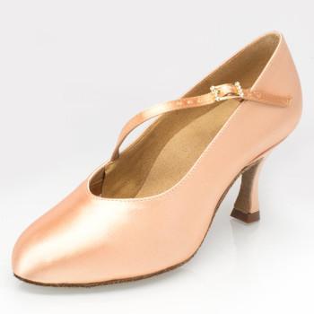 Ray Rose - Ladies Dance Shoes 116 Rockslide - Satin Light Flesh