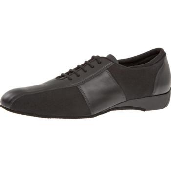 Diamant - Men´s Ballroom Sneakers 143-225-380 - Leather/Microfiber - 2,5 cm Keil-Heel [UK 5,5]