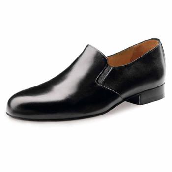 Werner Kern - Hombres Zapatos de Baile 28016 - Cuero Negro - 2,5 cm Ballroom [UK 5,5]