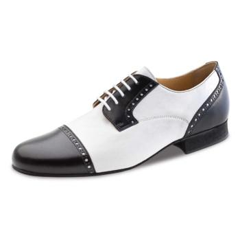 Werner Kern - Men´s Dance Shoes 28051 - Leather Black/White