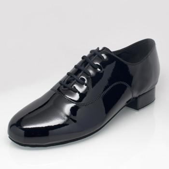 Ray Rose - Hombres Zapatos de Baile 325 Storm - Charol Negro
