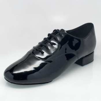 Ray Rose - Hombres Zapatos de Baile 335 Windrush - Charol Negro