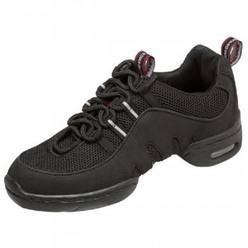 Supadance - Unisex Dance Sneakers 8007 - Black