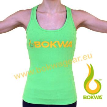 Bokwa® - Buyani Graphic Rib Tank II - Grün [Extra Small]