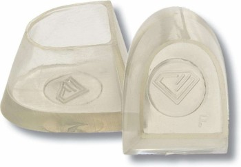 Diamant - Protectores de Tacón Flare [Transparente | 1 Par]