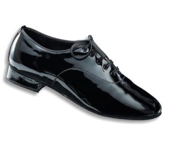 Dance Naturals - Hombres Zapatos de Baile 11 - Charol Negro