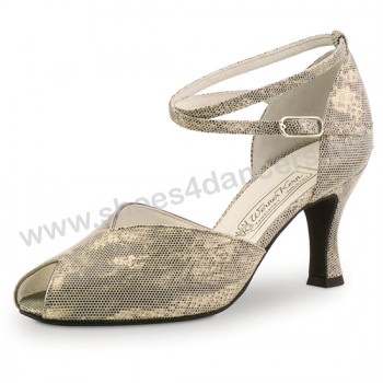 Werner Kern - Mujeres Zapatos de Baile Asta - Shark Antiguo