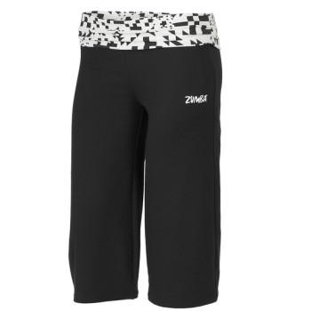 Zumba® - Escape Gaucho Pant - Negro [Extra Small]