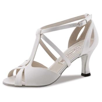 Werner Kern - Zapatos de Novia Francis LS - Satén Blanco