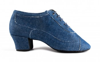 PortDance - Mujeres Zapatos de Práctica PD704 Fashion - Jeans