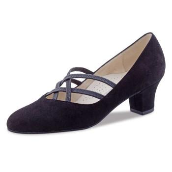 Werner Kern - Ladies Dance Shoes Ruby - Black Suede