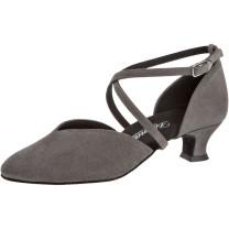 Diamant - Mulheres Sapatos de Dança 107-013-009 - Camurça cinza