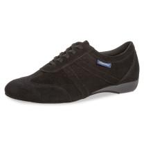 Diamant Hombres Zapatos de Baile 133-226-001 - Ante Negro