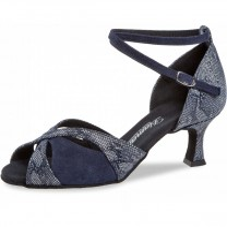Diamant - Donne Scarpe da Ballo 141-077-534 - Blu scuro/reptile