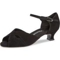 Diamant - Mujeres Zapatos de Baile 162-011-001-V - Cuero Negro - VarioSpin