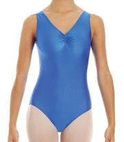 Intermezzo - Mädchen Ballett Body/Trikot mit V-Ausschnitt und Trägern breit 3040 Bodyly Cf