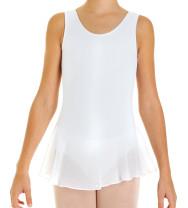 Intermezzo - Mädchen Ballett Body/Trikot mit Rock und Trägern breit 3055 Bodymerfal