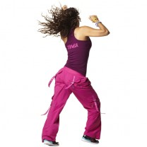 Zumba® - Feelin it Cargo Pants - Mulberry