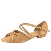 Rummos Mulheres Sapatos de Dança Lola - Nobuk Castanho - 2 cm
