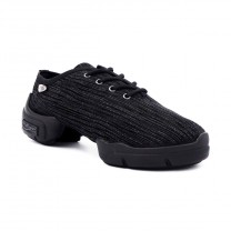 PortDance - Damen Dance Sneakers PD926 Premium - Schwarz