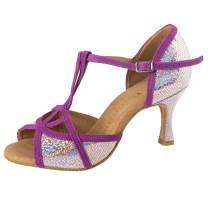 Rummos Dames Dansschoenen Santigold - Lilac/Mirror - 6 cm