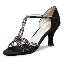 Anna Kern - Mujeres Zapatos de Baile 919-60 - Ante Negro