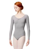 LULLI Dancewear Donne Balletto Calzamaglia/Body/Leotard SAMANTHA con maniche lunghe