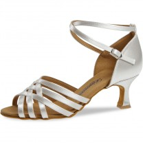 Diamant - Damen Tanzschuhe 008-077-092 - Satin Weiß