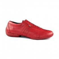 Portdance - Herren Sneakers PD Pietro Street - Leder Rot