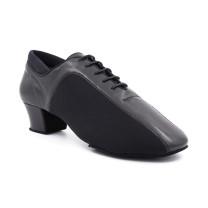 PortDance - Homens Sapatos de Dança PD015 Pro - Pele