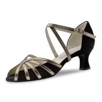 Werner Kern - Mujeres Zapatos de Baile Swantje - Schwarz/Bronze