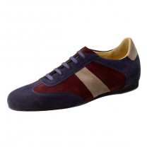 Werner Kern - Men´s Dance Shoes 28061 - Blue/Red/Beige