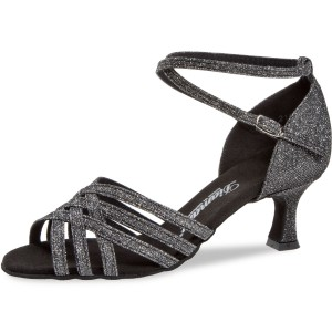 Diamant - Ladies Dance Shoes 008-077-519 - Brocade Black