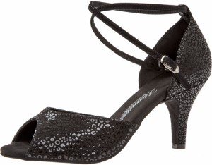 Diamant - Ladies Dance Shoes 017-058-331 - Black Leather
