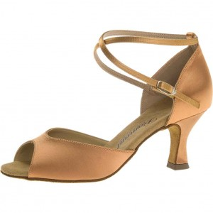 Diamant - Ladies Dance Shoes 017-087-091 - Bronze Satin