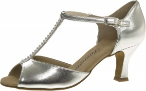 Diamant - Ladies Dance Shoes 025-087-013 - Silver