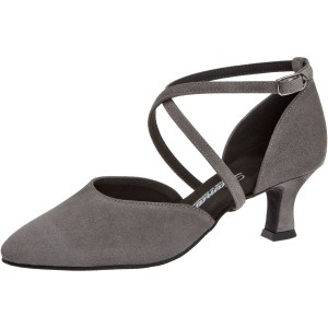 Diamant - Ladies Dance Shoes 048-068-009 - Grey Suede