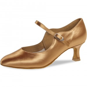 Diamant - Ladies Dance Shoes 050-106-087 - Bronze Satin