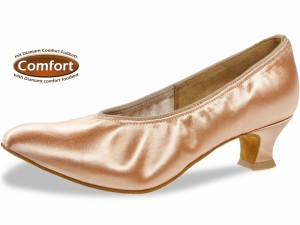 Diamant - Ladies Ballroom Dance Shoes 069-013-094 - Satin Beige