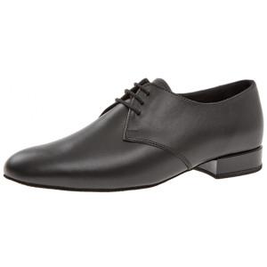 Diamant - Hombres Zapatos de Baile 095-075-028 - Cuero Negro