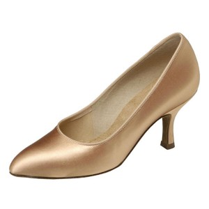 Supadance - Damen Tanzschuhe 1003 - Satin Tan
