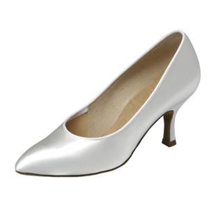 Supadance - Damen Tanzschuhe 1003 - Satin Weiß